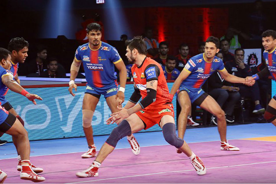 PKL 2018: Bengaluru Bulls Beat UP Yoddha 37-27