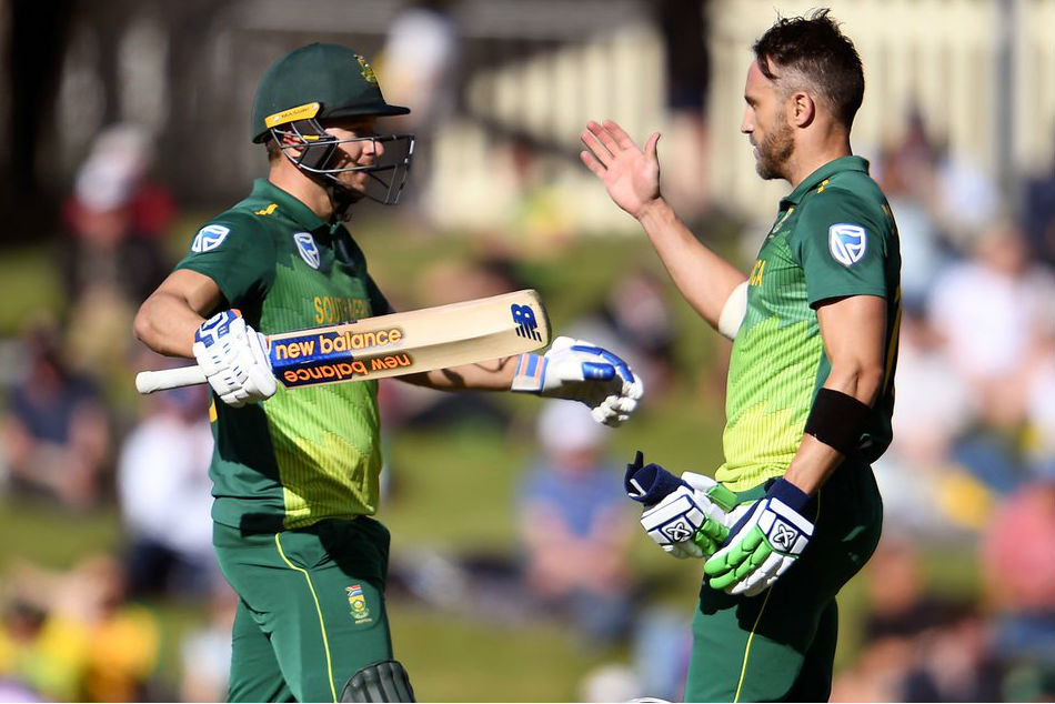 David Miller, Faf du Plessis plunder records as they smash Australia