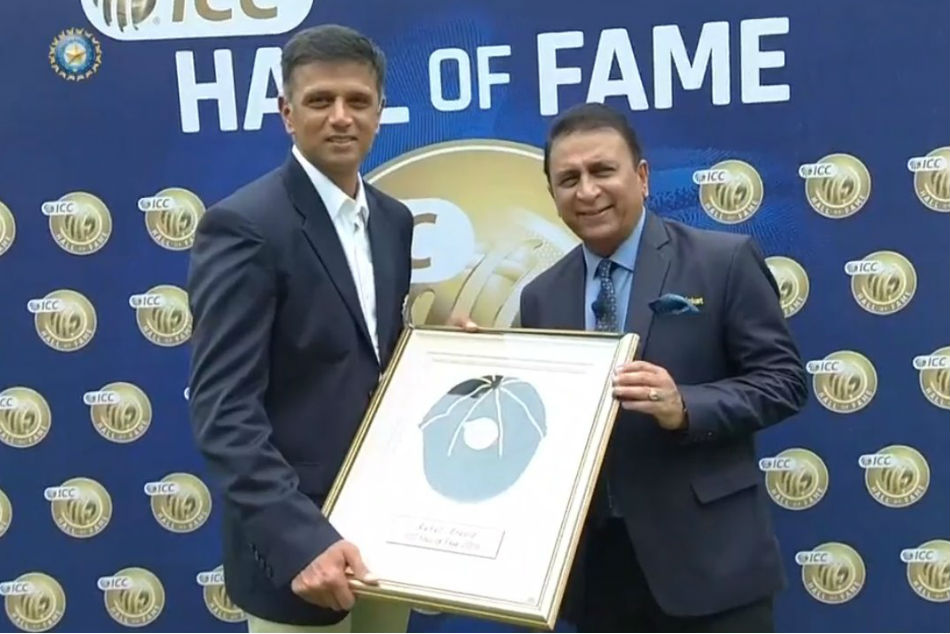 Dravid Becomes Fifth Indian Be Inducted Into Icc Hall Fame