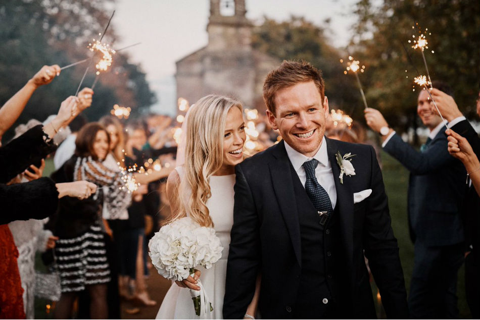 England ODI Captain Eoin Morgan gets married
