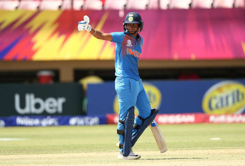 women world t20 india vs new zealand india won harmanpreet kaur century