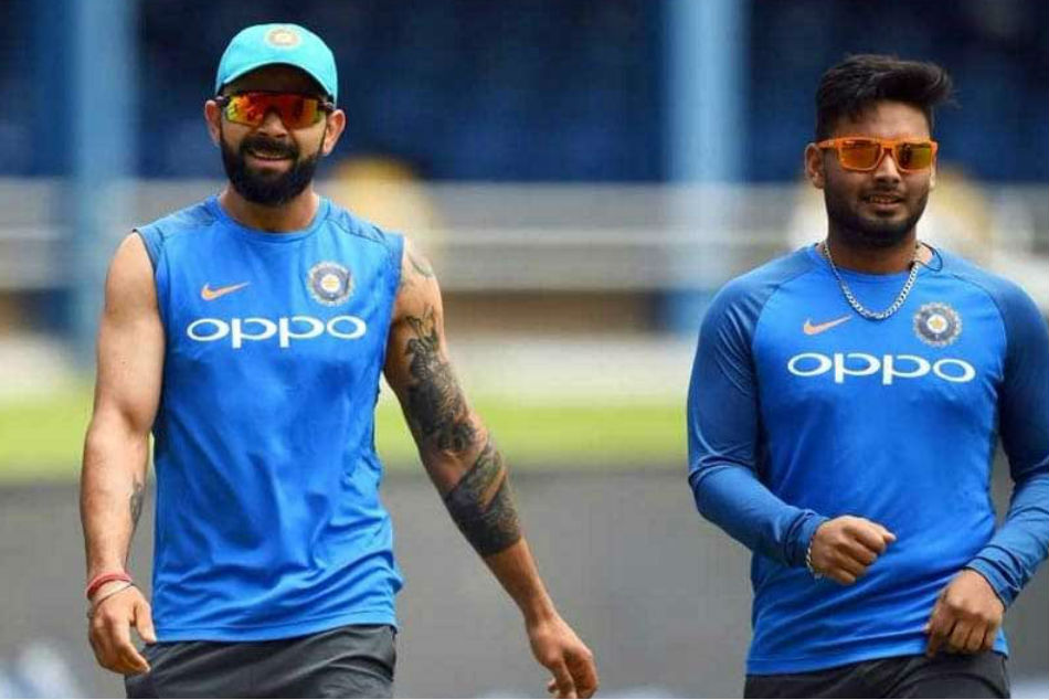 Virat Kohli Uploads Picture With Rishabh Pant Calls Him Champion