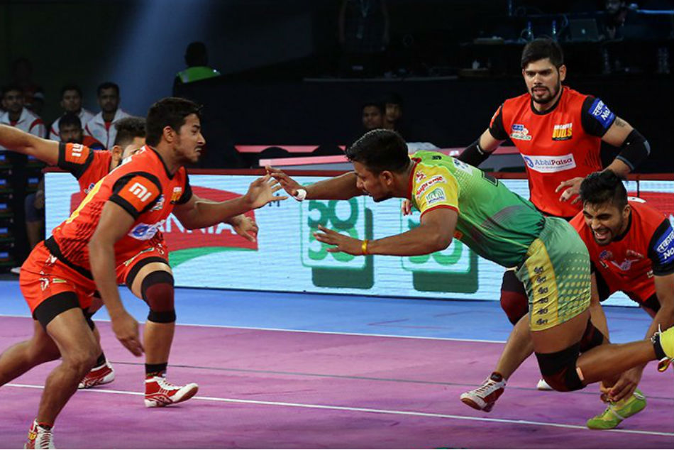 Pro Kabaddi 2018: Pardeep stars as Patna win the match 35-32