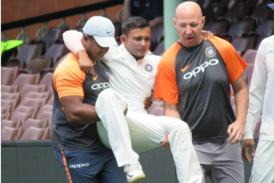 India vs Australia: Prithvi Shaw suffers ankle injury