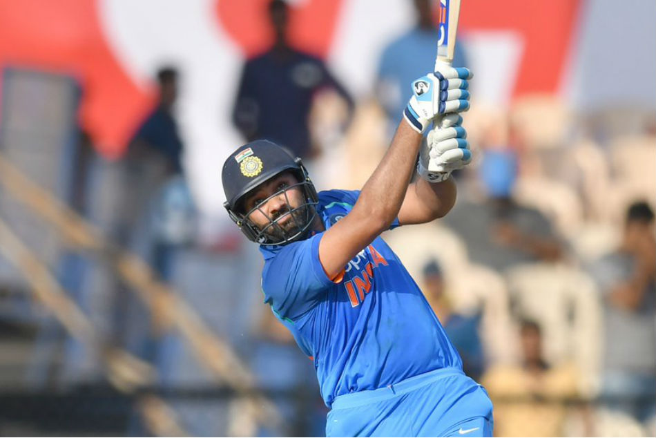 Rohit Sharma becomes the seventh to hit 200 sixes in ODIs