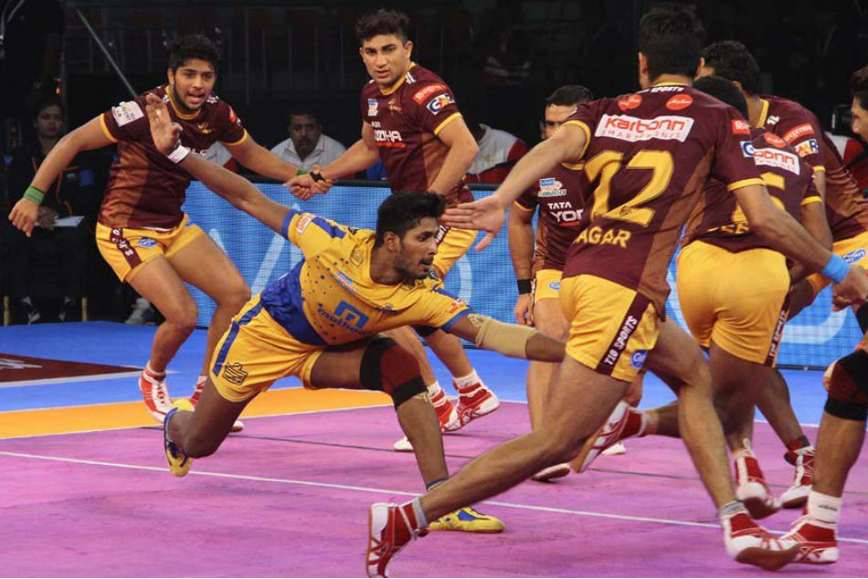 Pro Kabaddi 2018: UP Yoddha defeated by Tamil Thalaivas