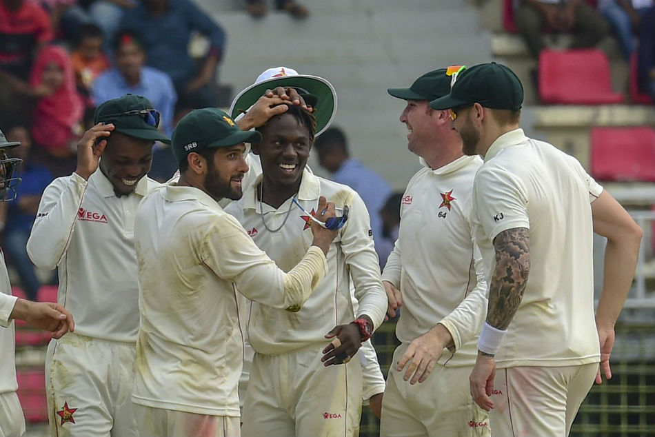 Zimbabwe Beat Bangladesh In Sylhet Test First Won In 5 Years