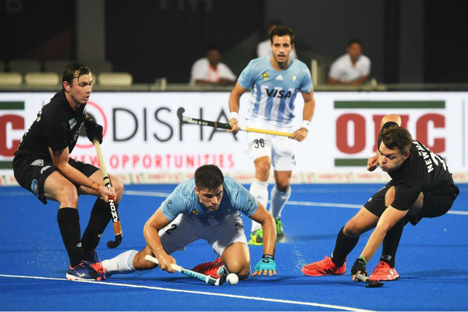 Hockey World Cup 2018 Argentina Outclass New Zealand 3 0