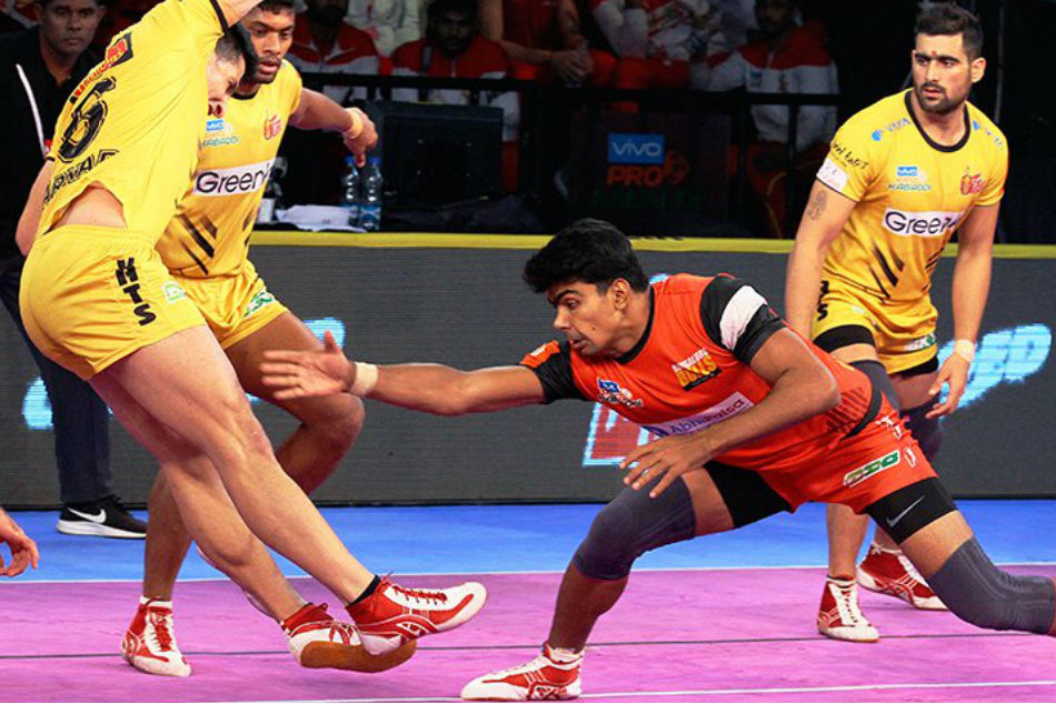 Pro Kabaddi 2018 Bengaluru Bulls Win High Scoring Encounter 37