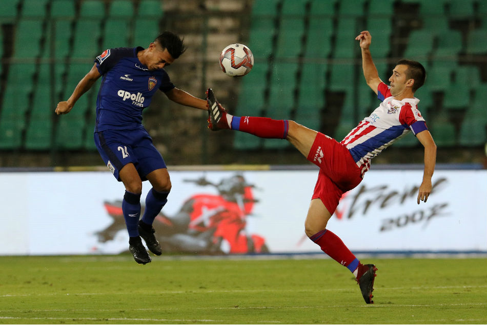 ISL 2018: ATK leave Chennaiyin on the brink