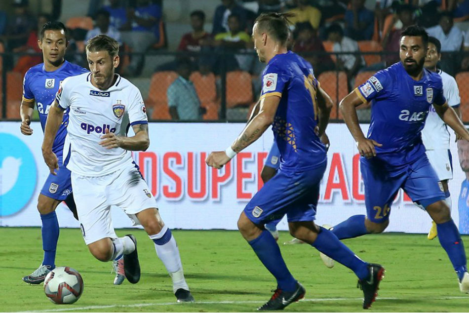ISL 2018: Mumbai end Chennai's hopes of title defence with 2-0 win