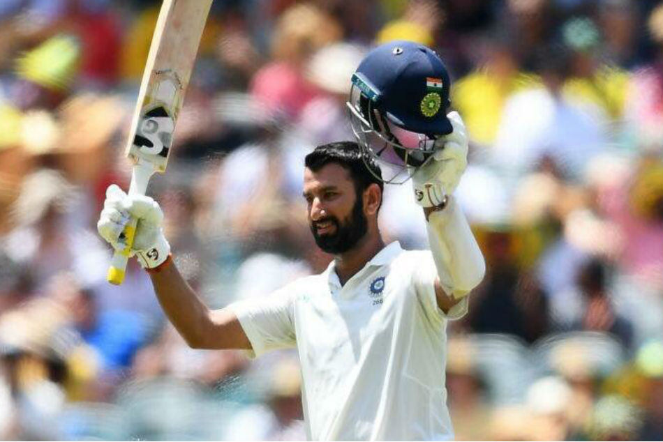 Pujara goes past Ganguly, equals Laxman with 17th Test century