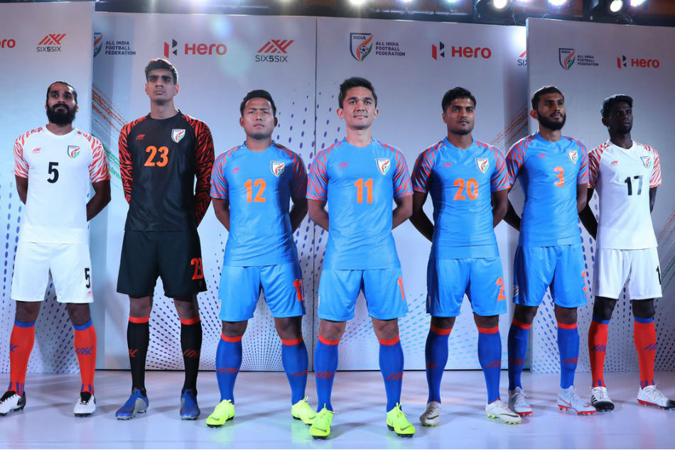 New Year, New Kit for Indian Football team