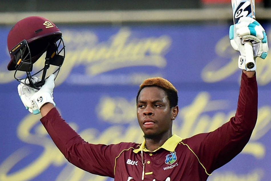 IPL 2019 west indies player shimron hetmyer sold to rcb for 420 lakhs