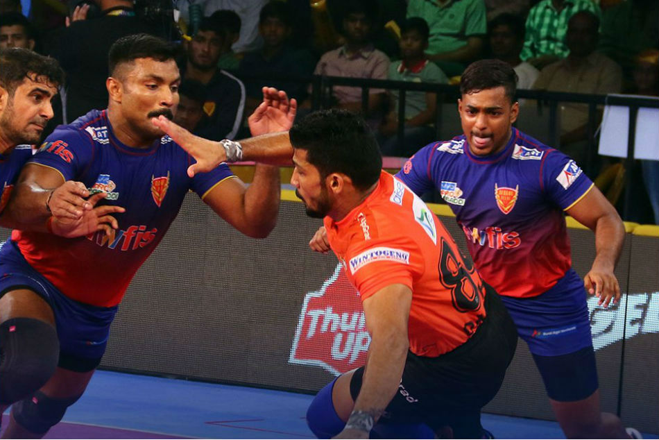 PKL: U Mumba-Jaipur, UP Yoddha-tamil thalaivas play out a draw