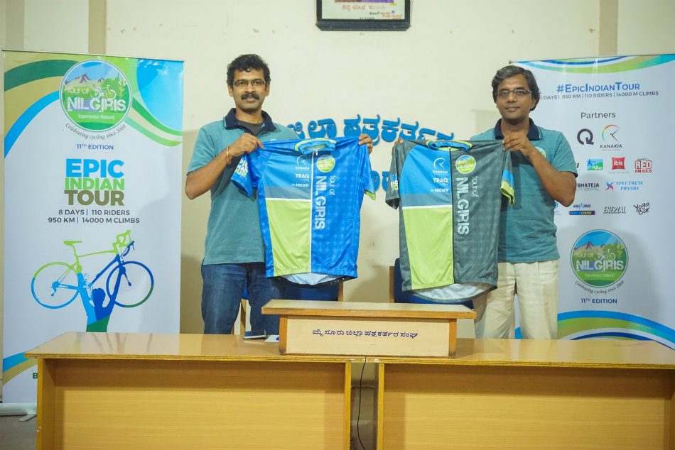 Jersey for the 11th edition of Tour of Nilgiris (TfN) Unveiled