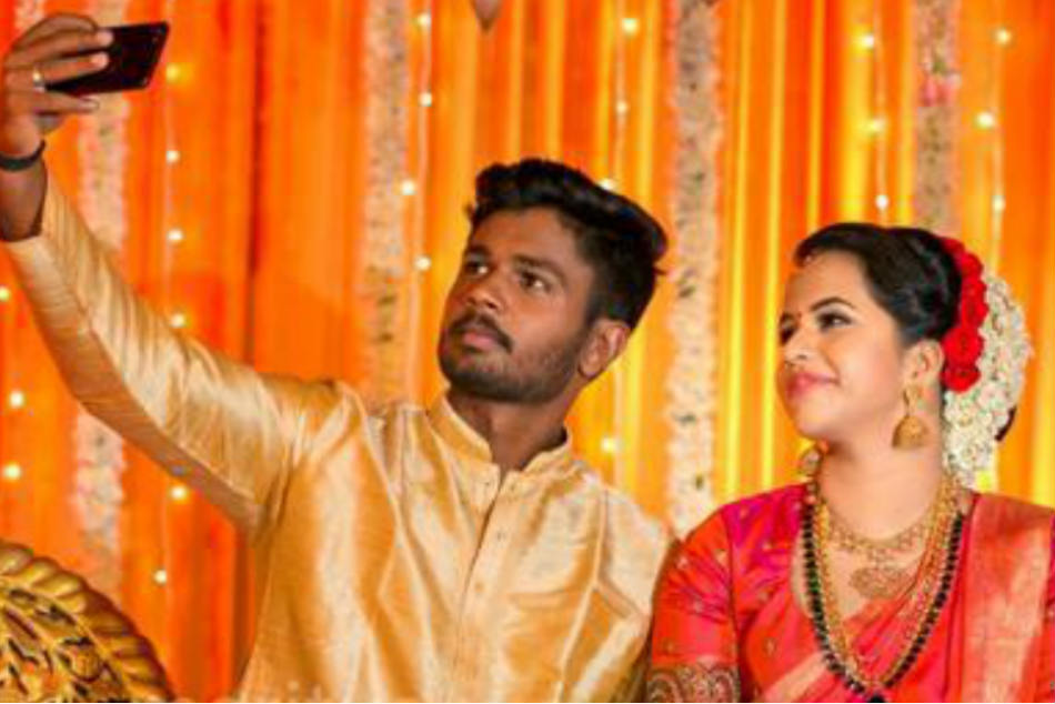 Sanju Samson ties the knot with college-mate in Kerala