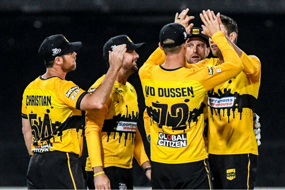 Jozi Stars are the champions of the inaugural Mzansi Super League