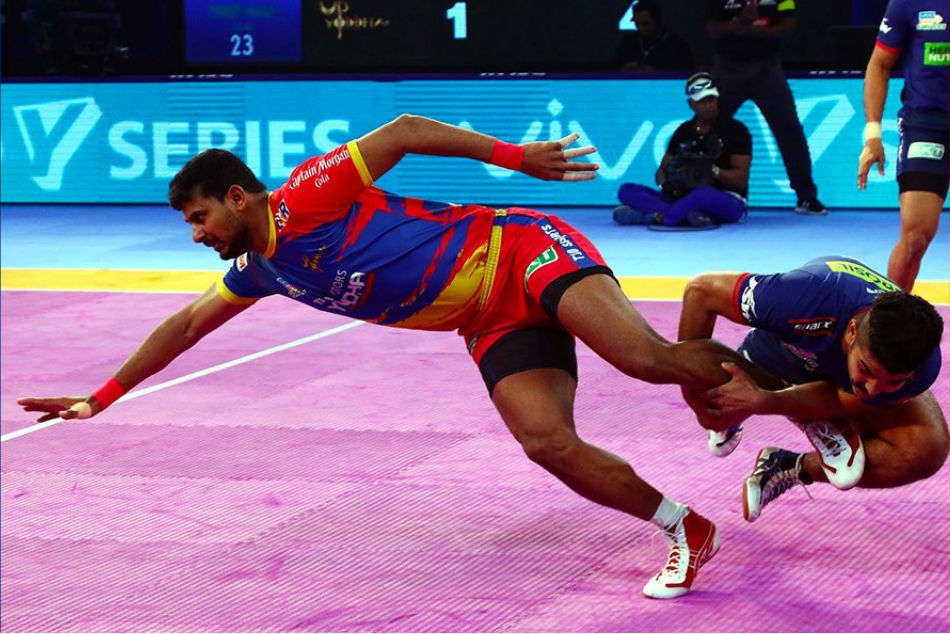 Pro Kabaddi 2018: UP Yoddha beat Haryana Steelers