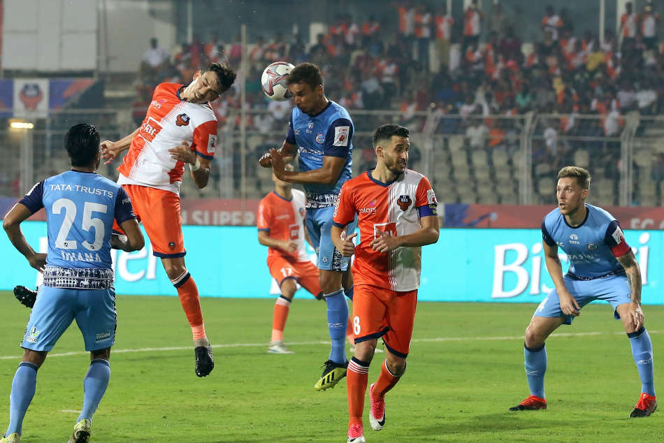 Goa Jamshedpur Play Safe And Settle For Draw