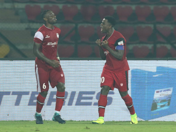 ISL: Ogbeche's late strike takes NorthEast to third spot