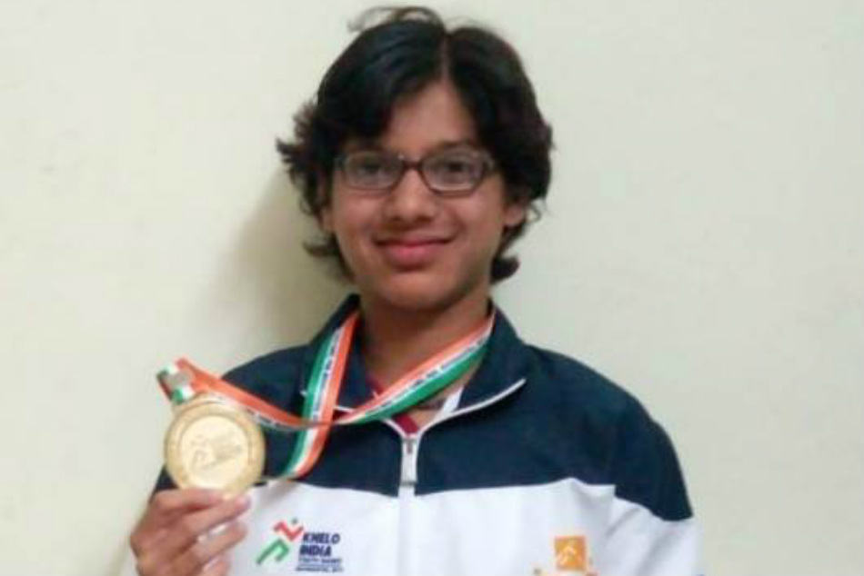 Girl from Mangaluru bagged silver medals in Khelo India sports events