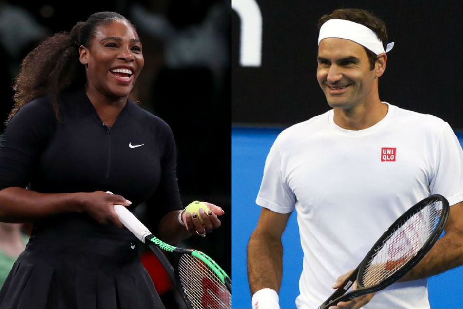 Hopman Cup Roger Federer Serena Williams Win Singles Matches