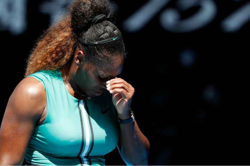 Australian Open Serena Williams Stunned Karolina Pliskova Fightback