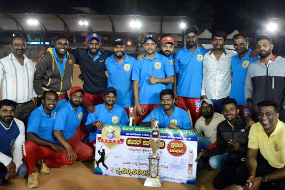 Nash Cricketers win Kengal cup Tennis Ball Tournament