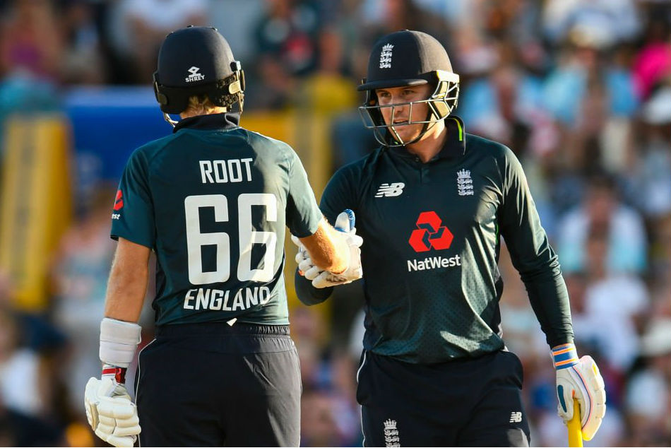 Roy, Root score centuries as England register record win against Windies