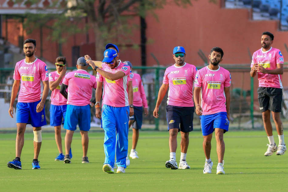 Rajasthan Royals Go Pink For Ipl