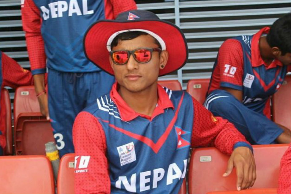 Nepals Sundeep Jora becomes youngest cricketer to score a T20I fifty