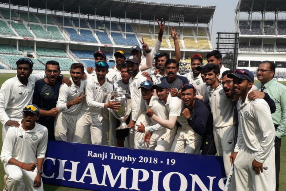 Ranji Trophy: Vidarbha win by 78 runs, clinch second title