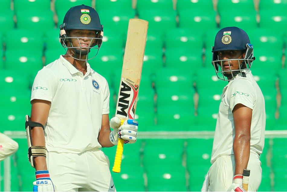 Jaiswal Kandpal Slam Tons As India U19 Take Control Against Sa