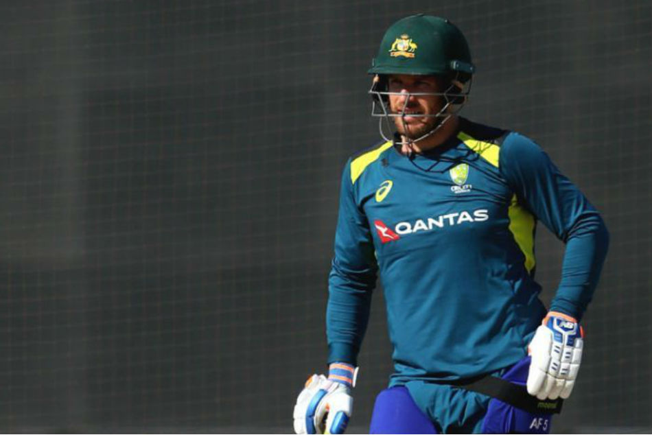 Aaron Finch happy to demote himself in Australian World Cup batting order