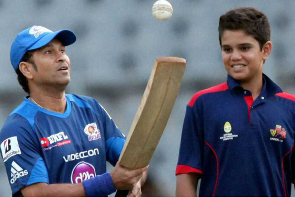 Sachin Tendulkar has some advice for son Arjun ahead of his T20 Mumbai debut