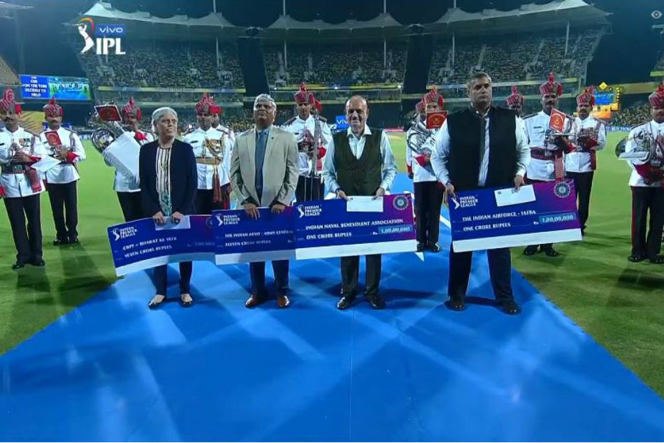 BCCI donates IPL 2019 opening ceremony funds to CRPF and Armed Forces