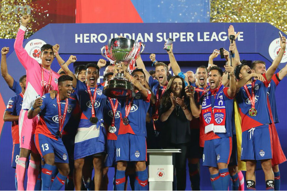 Indian Super League Final Live Score Bengaluru Fc Vs Fc Goa