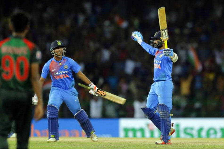 Dinesh Karthik relives his knock in the Nidahas final