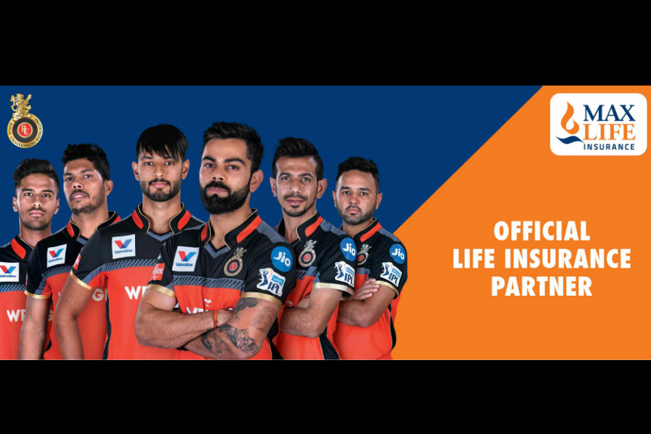 IPL : Royal Challengers Bangalore partnership with Max Life Insurance