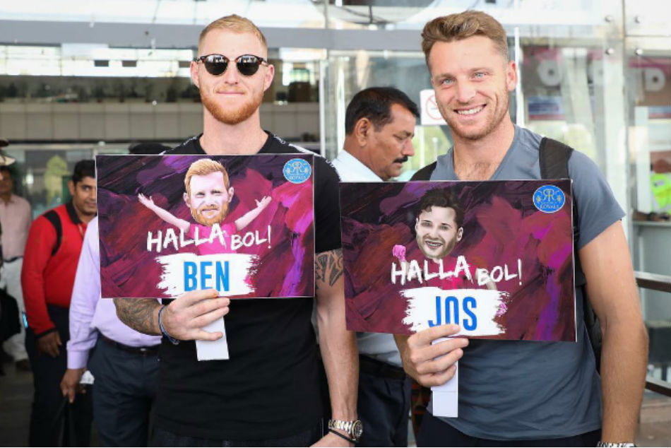 IPL 2019: Ben Stokes and Jos Buttler arrive in Rajasthan Royals camp