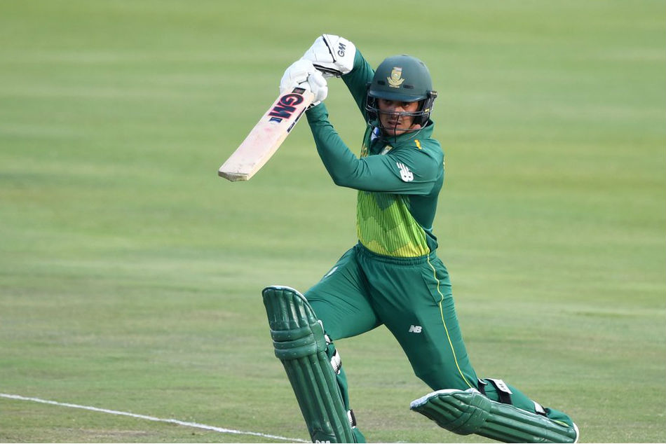 Quinton De Kock Shines Help Hosts Thump Visitors 2nd Odi