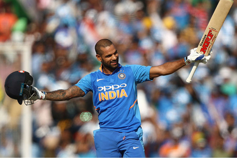 Shikhar Dhawan Returns To Form, Hits 16th ODI Century To Lift India In Mohali