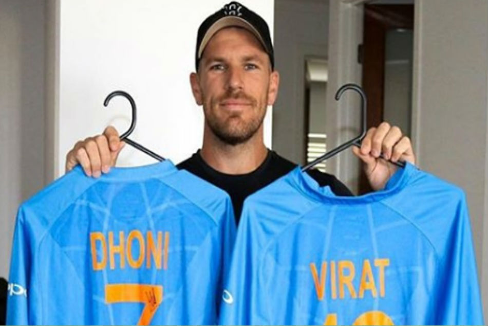 'Thank you Virat Kohli and MS Dhoni: Aaron Finch lauds duo for incredible gesture