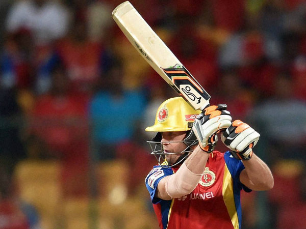 AB de Villiers played for the Royal Challengers Bangalore