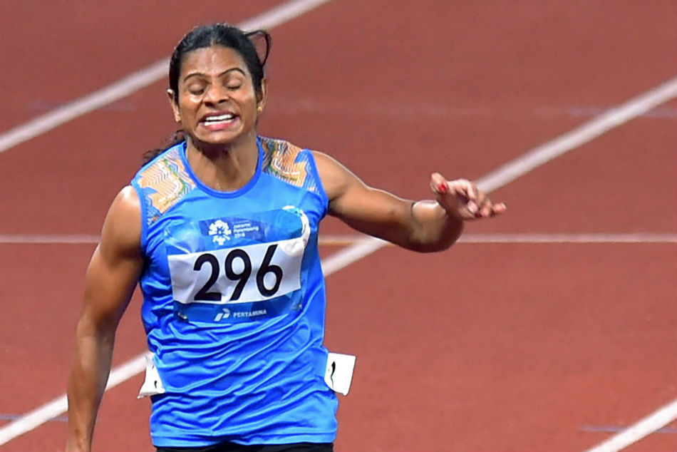 Dutee Chand smashes own national record