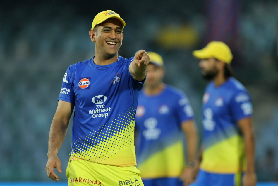 MS Dhoni out with back spasm, not captaining CSK for the 1st time since 2010