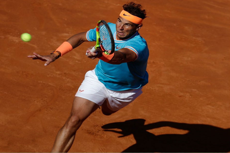 Nadal labors past Mayer in Barcelona Open