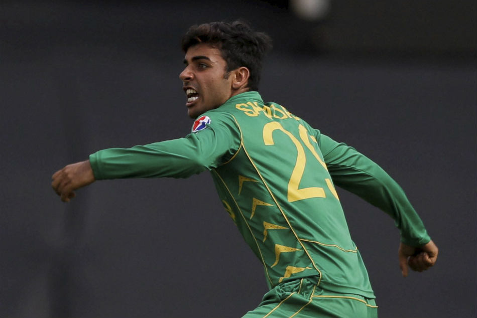 pakistan leg spinner shadab khan