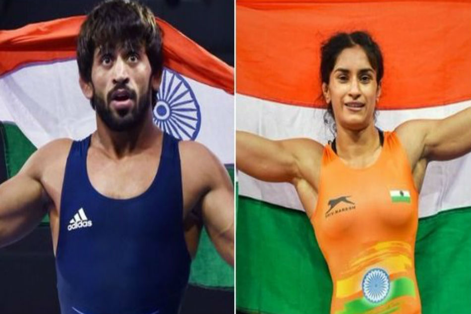 Wfi Recommends Vinesh Phogat Bajrang Punia For Rajiv Gandhi Khel Rathna Award